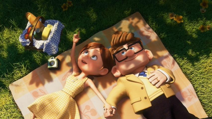 up picnic scene